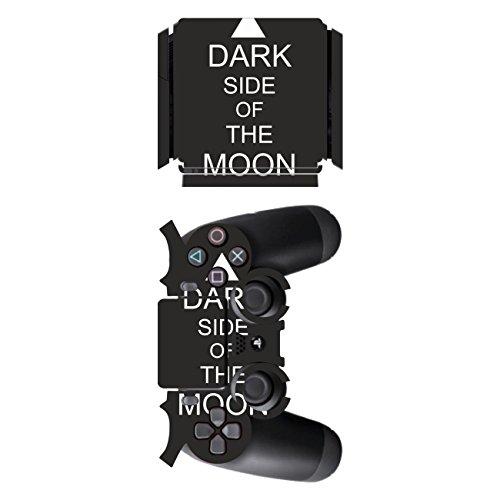 Disagu SF-sdi-5545_588 Design Folie für Sony PS 4 Slim und Controller Motiv Dark Side of The Moon klar
