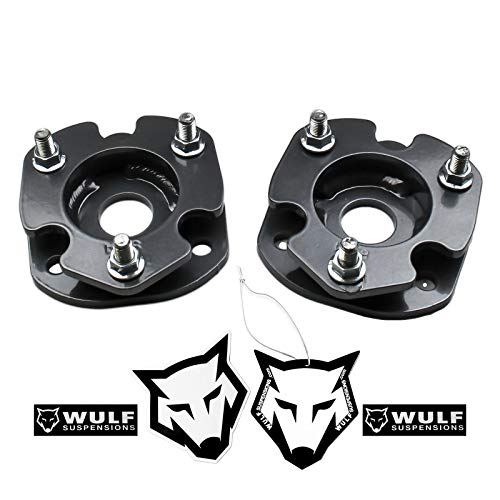 """WULF 1.5"""" Front Leveling Lift Kit with Strut Spacers compatible with 2013-2018 Dodge Ram 1500 4X4"""