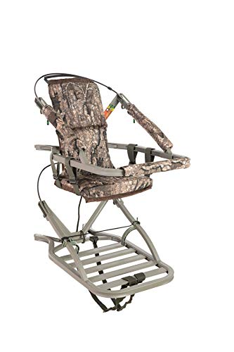 Summit Treestands Viper SD Climbing Tree Stand -Realtree Timber, SU81138