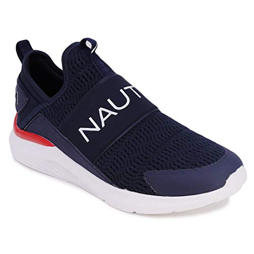 Nautica Men's Casual Fashion Sneakers-Walking Shoes-Lightweight Joggers-Bolton-Navy-11