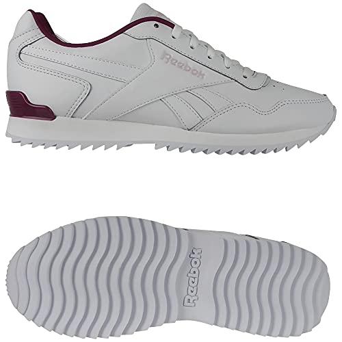 Reebok Royal Glide Ripple Clip, Zapatillas de Running, FTWBLA/PUNBER/FROBER, 35 EU