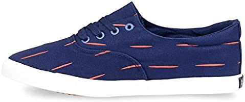 Hipster Mens Slasher Skate Shoe Casual Lace up Low Top Sneaker