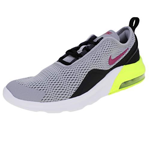 Nike Herren Air Max Motion 2 (Gs) Leichtathletikschuhe, Mehrfarbig (Wolf Grey/Rush Pink/Anthracite/Black 000), 38.5 EU