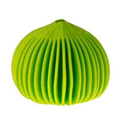 in budget affordable Koopeh Designs Garlic Peeler, Silicon, Lime Green, 1