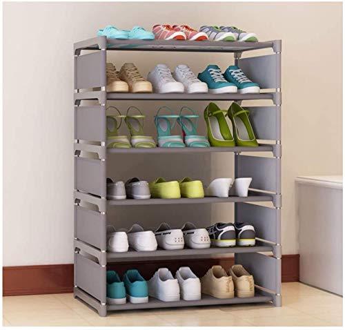 Ranuras de zapato ajustables Organizador Bastidore Zapato estante zapato estante grande, organizador de zapatos, estantería de almacenamiento de utilidad, estante de almacenamiento de zapatos para pas