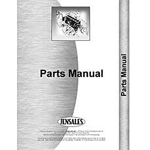 1 Pc of Parts Manual, Compatible with Dearborn Corn Cultivator Tractor 13-8