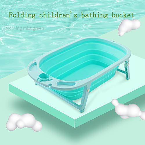 Lowest Prices! Children's Folding tub, Children's tub, Children's Bathing Bucket Baby Pool Baby Bath...