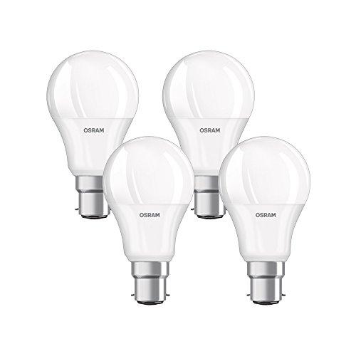 Osram Ampoule LED Plastique 8.5 W B22d Blanc 4 pi?ces