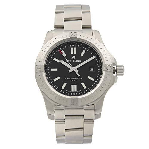 Breitling Chronomat Colt Automatic 44 Reloj de hombre con esfera negra (Ref: A17388101B1A1)