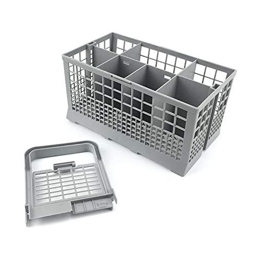 YooSz Caja De Almacenamiento De Lavavajillas Cesta De Cubiertos De Lavavajillas Universal Limpieza Fácil Retirar FIT/Ajuste para Las HERRAMIENTES DE Cocina DE Bosch