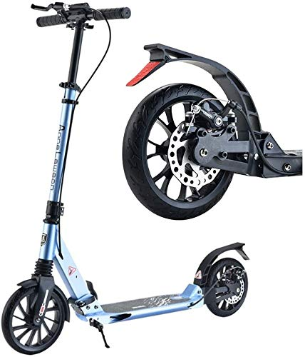 Patín Eléctrico Big Wheel Scooter for Adultos Niños Adolescentes Plegable Kick Scooters...