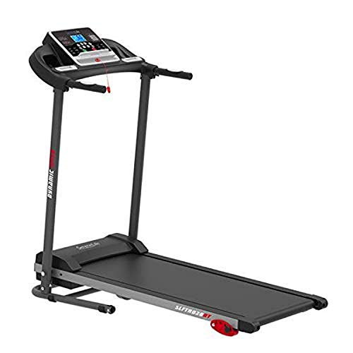 Folding Treadmill Exercise Running Machine - Electric Motorized Running Exercise Equipment w/ 12 Pre-Set Program, Manual Incline, Bluetooth Music/App Support - Home Gym/Office - SereneLife SLFTRD26BT