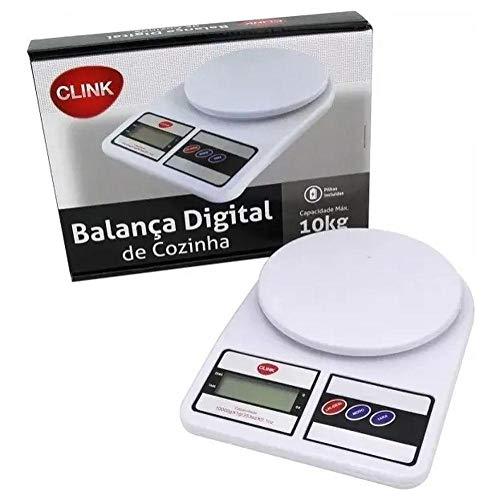 Balança Digital de cozinha de precisão até 10kg Clink