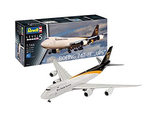 Revell 0391214Maqueta de Boeing 747–8F UPS en Escala 1: 144, Niveles 5