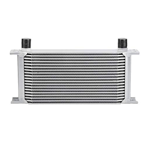 Enfriador de aceite, motor de motor de tipo británico de 19 hileras Enfriador de aceite Radiador Transmisión Sistema de enfriamiento Plata