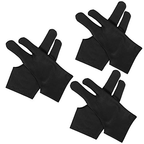 metagio 6 Stück Elastisch Antifouling Handschuh, Drawing Glove Tablet Zeichenhandschuh Geeignet, Artist Glove für die rechte und Linke Hand Freihand-Zeichenhandschuhe für Grafiktabletts