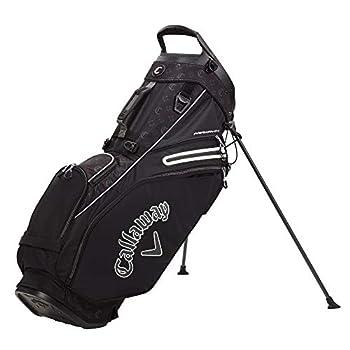 Callaway Golf 2021 Fairway 14 Stand Bag  Black/Logo/Charcoal