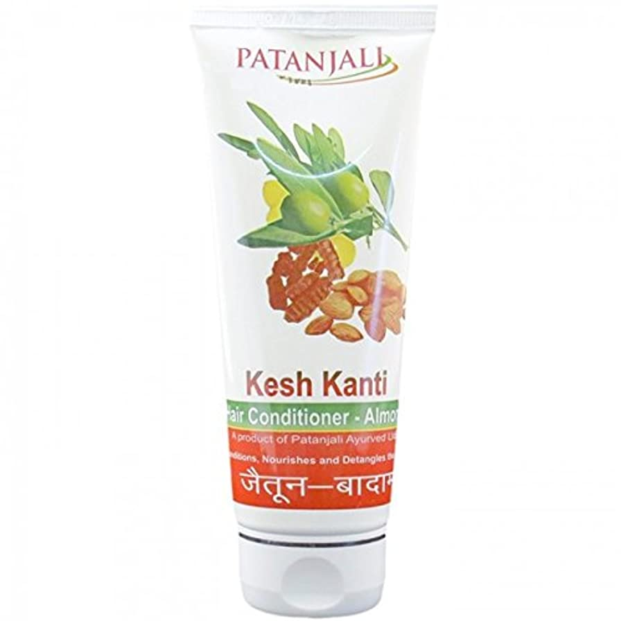 賢明な散る商標PATANJALI Kesh Kanti Hair Conditioner Almond 100 Grams by Patanjali