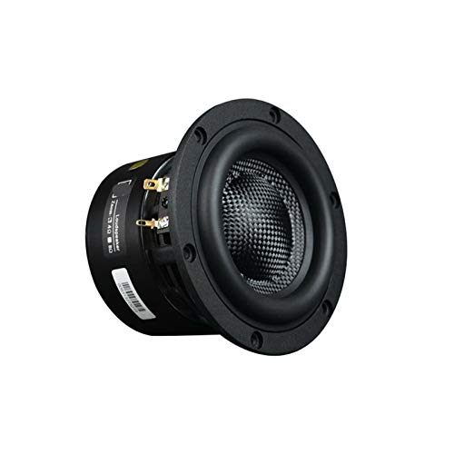 Wnuanjun 1 stück 4 Zoll toofer lautsprechereinheit 40-80w Home HiFi subwoofer Mini poratble Computer pc Speaker DIY Auto Audio für Home soundbar System (Größe : 4 Ohm)
