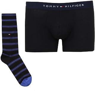 Tommy Hilfiger Black Everyday Pack in a Presentation Box (Boxer Short & Socks)