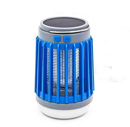 Mosquito Solar Light LED-lamp mosquito shock formule Buitenverlichting USB opladen voor huishoudelijk muggenspray blauwe mute
