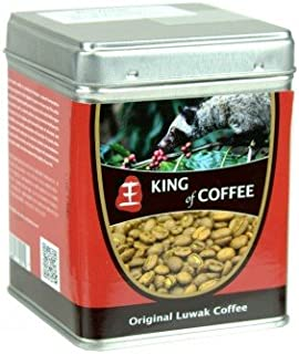 King of Coffee Wild Kopi Luwak Coffee 100g