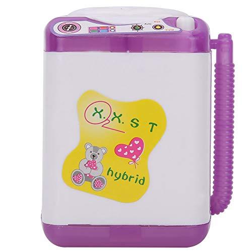 lavatrice finta giocattolo Casa delle Bambole Mini Lavatrice Set Modello Lavanderia Fai Finta Giocare Giocattoli Lavatrice Accessori per Dollhouse per Bambini Ragazzo Ragazza Compleanno Natale Pasqua Regalo