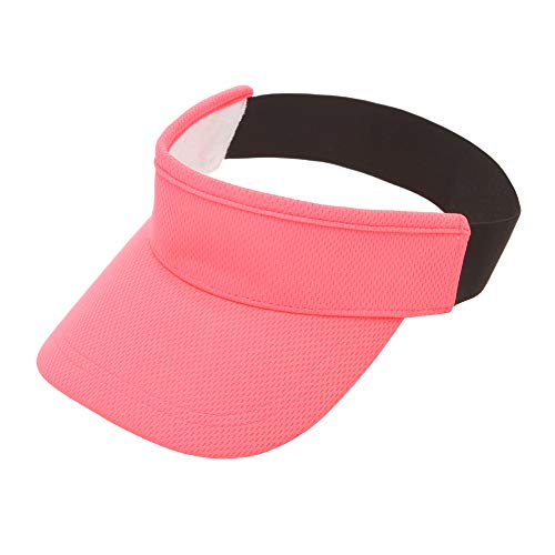 Michael Heinen Visor Cap Donna – Golf & Tennis Cap – Cappello estivo, Donna, neon rosso, Taglia unica