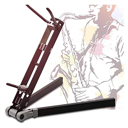 Universal Alto Saxophone Stand, Portable Saxophone Violin Stand, Foldable Wind Instrument Support Stand
