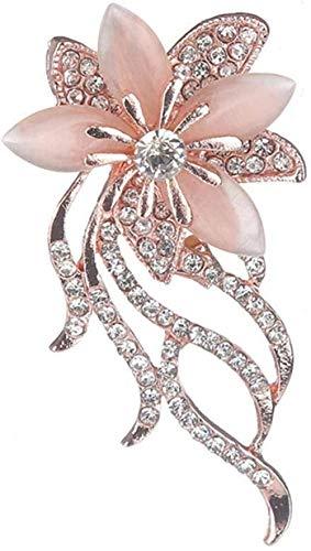 FOPUYTQABG Brosche Brosche Brosche Brosche Brosche schöne Mode Stil Tee Damen Chrysanthemen Deko