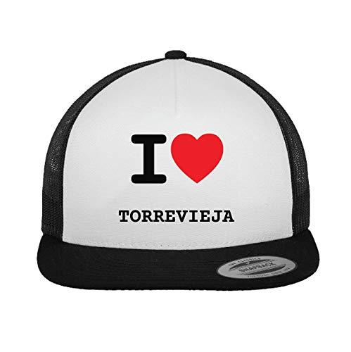 JOllify TORREVIEJA Trucker Cap Kappe Mütze – Design: I love - Ich liebe