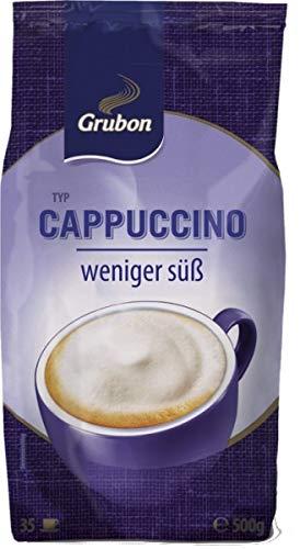 Grubon Cappuccino weniger süß, 10 x 500g = 5,00 Kg