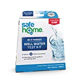Safe Home WELL WATER Test Kit – DIY Testing for 16 Different Parameters in a Well Water Supply – Bacteria, Lead, Mercury, Hex-Chrome, Copper, Iron, Nitrate, TDS, Hardness & More.