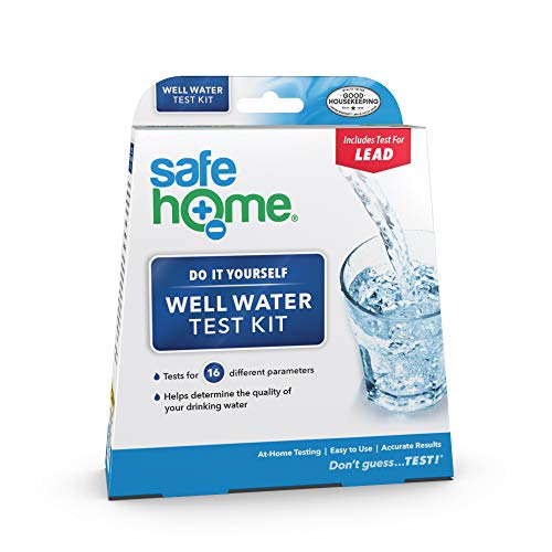 Safe Home WELL WATER Test Kit – DIY Testing for 16 Different...