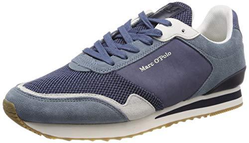 Marc O'Polo 90224363501315 Herren  Sneaker, Blau (denim 870), 44 EU (9.5 UK)
