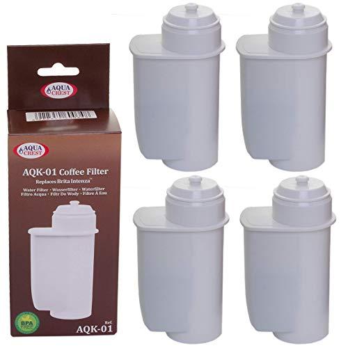EcoAqua Lot de 5 filtres à eau pour Bosch VeroBar Siemens EQ3 EQ5 EQ6 EQ8 + 9 Compatible avec Brita Intenza