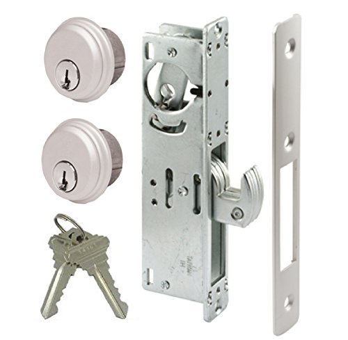 Pacific Doorware Hook Deadbolt Mortise Gate Lock for Sliding Gates and Steel or Aluminum Storefront Doors