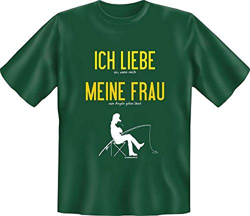 Rahmenlos Pêche – J'aime Ma Femme – Fun T-Shirt – Tailles S, M, L, XL, XXL XXL Mehrfarbig