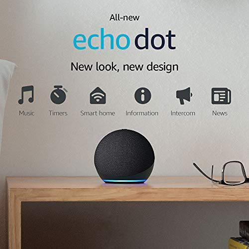 All-new Echo Dot (4th Gen)   Smart speaker with Alexa