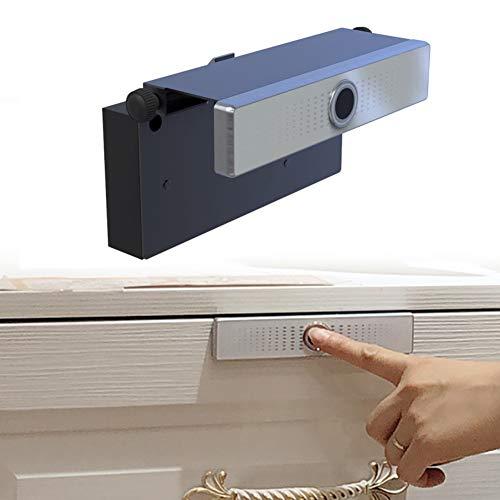 Smart Drawer Fingerabdruck-Schloss, intelligentes elektronisches Schloss, Smart-Fingerabdruck-Schloss, Schrankschlösser für Aktenschrank, Büroschrank, Kassierer Ark, Wie abgebildet