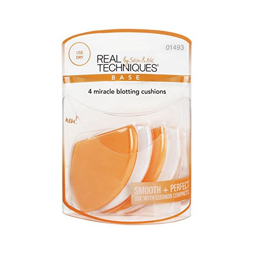 Real Techniques 4 Miracle Blotting Cushions (6 Pack)