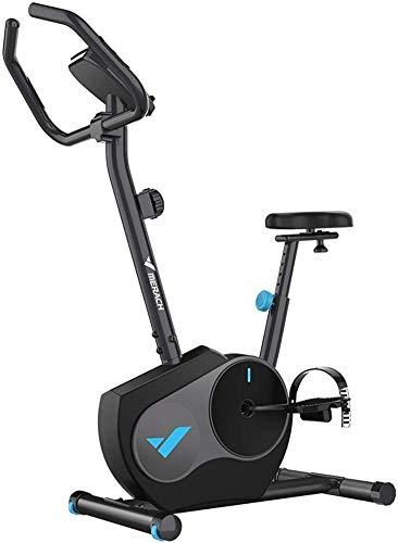 Bicicleta de ciclismo de interior Correa de transmisión Bicicleta estacionaria Bicicletas estáticas con monitor LCD para entrenamiento cardiovascular en casa Entrenamiento en bicicleta - Bicicleta ne