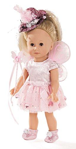 Götz 1613027 Just Like me - Paula die Fee Puppe - 27 cm große Stehpuppe mit blonden Haaren und braunen Schlafaugen - für Kinder ab 3 Jahren