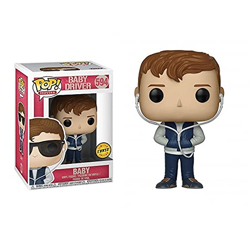 Jokoy Funko Pop Movie : Baby Driver - Baby (Special Edition) 3.75inch Vinyl Gift for War Movies Fans Chibi