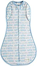 Woombie Convertible Summer Baby Swaddle Blanket, Converts to Wearable Blanket for Babies Up to 6 Months, Beep Beep, 14-19 lbs