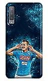 Coque souple en TPU pour Samsung Galaxy A7 2018 sport 151 Naples Milik
