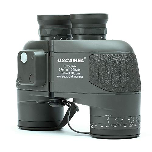 USCAMEL® 10x50 HD Military Binoc...