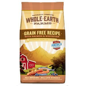 Whole Earth Farms Grain Free Recipe Salmon & Whitefish