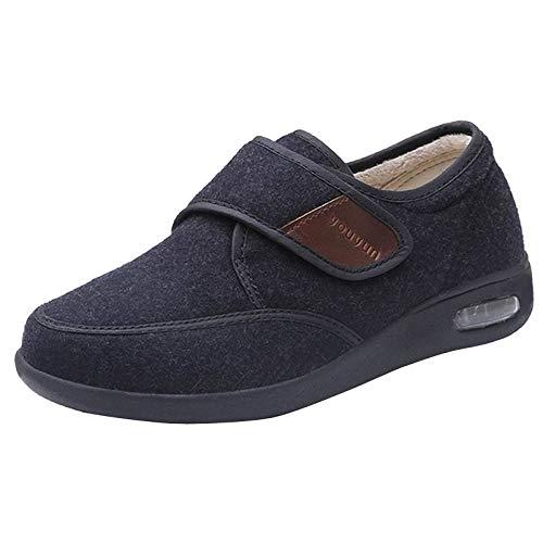 Nwarmsouth Zapatos para pie diabético con Artritis Edema,Calzado para pies hinchados, Zapatos para
