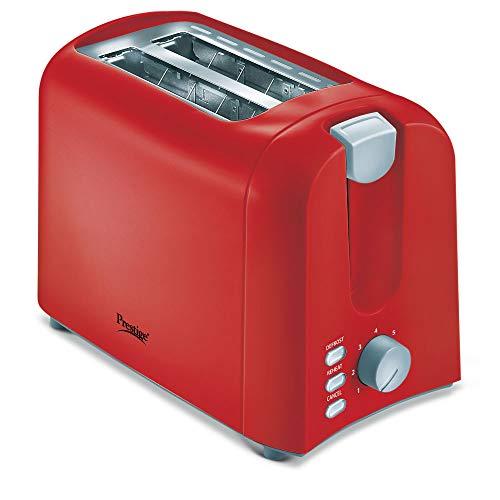 Prestige 700 Watts Pop-Up Toaster Pptpr- Red